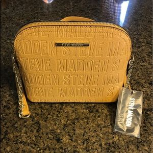 Steve Madden crossbody purse. New with tags.